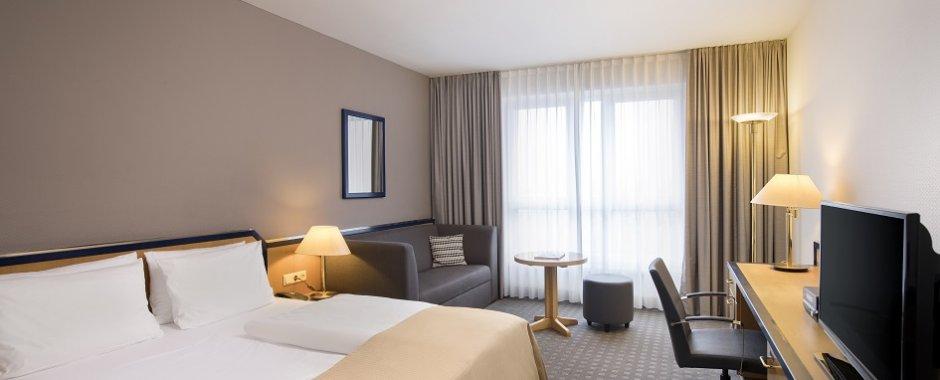 Executive Zimmer im Holiday Inn Hamburg
