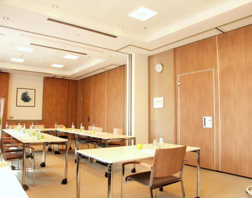 Tagungsraum Illumena 2 im Holiday Inn Hamburg, für bis zu 8 Personen.