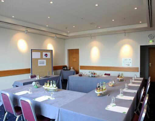 Tagungsraum Löcknitz im Holiday Inn Hamburg, für bis zu 25 Personen.