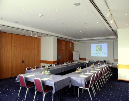 Tagungsraum Rossel im Holiday Inn Hamburg, für bis zu 40 Personen.